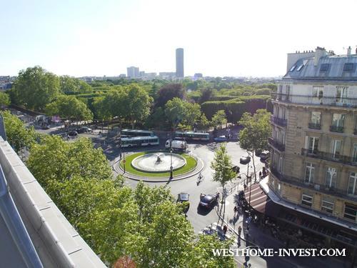Апартаменты-дуплекс в центре Парижа